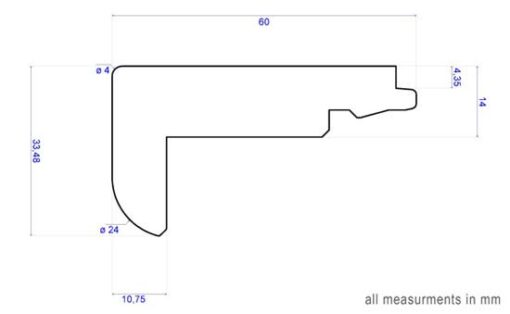 Boen_Oak_Nosing_14mm_diagram