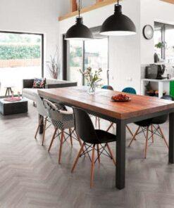 Pearl-Oak-Herringbone-vinyl-flooring