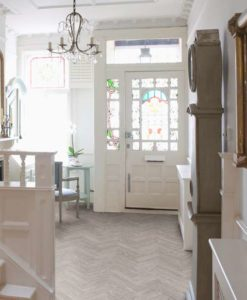 Washed-Grey-Oak-Herringbone-Vinyl-Flooring