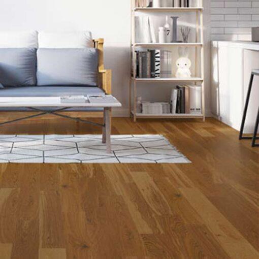 180mm Antique Engineered Oak Flooring Matt Lacquered