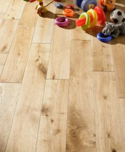 125mm Solid Oak Flooring Brushed & Oiled 18mm