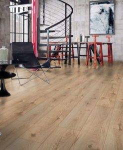 Swiss Krono Premium Natural Varnished Oak Laminate Flooring