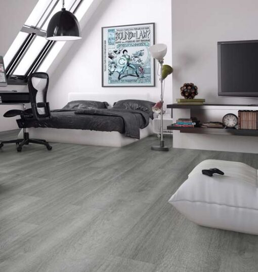 Swiss Krono Brushed Wembley Oak Wide Laminate Flooring