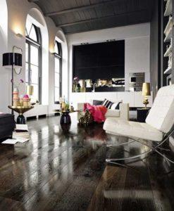 High Gloss Wood Flooring