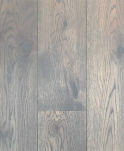 Staki Basalt Engineered Oak Flooring 15mm Brushed & Grey Oiled