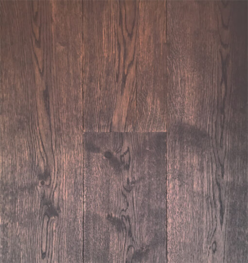 Staki Chestnut Engineered Oak Flooring 20mm Brown Oiled