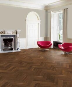 Maxiply 14mm Engineered Herringbone American Black Walnut Flooring 2965