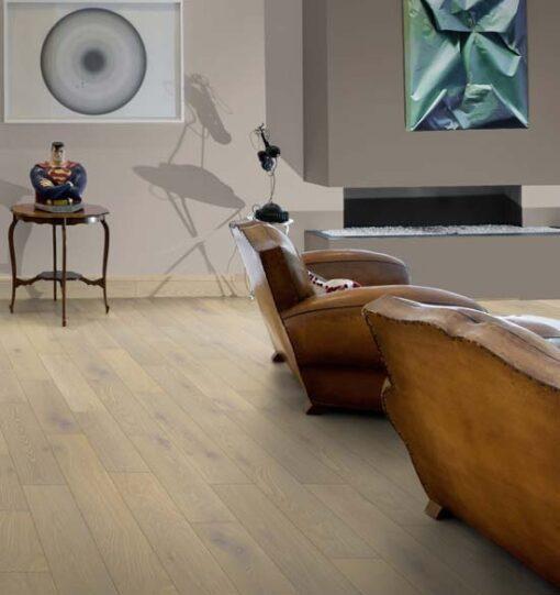 Maxiply 14mm Premium Whitewashed Brushed & Oiled Engineered Oak Flooring 150mm Wide 4406
