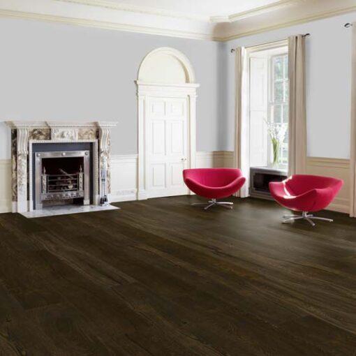 Maxiply Premium Vintage Brushed & Wax Oiled 300mm Wide Engineered Oak Flooring 4409