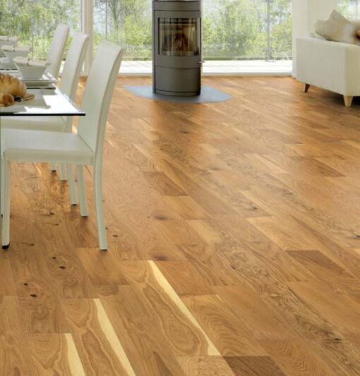 Maxiply 18mm Classic Smooth Oiled Engineered Oak Flooring 150mm Wide 4410