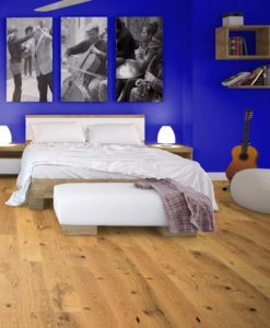 Maxiply Rustic Lacquered Click Engineered Oak Flooring 14mm x 190mm 4423