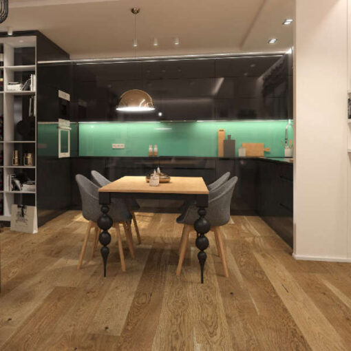 Holt Naseby T&G Oak Flooring Matt Lacquered 207mm Wide