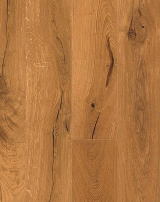 110mm Wide Solid European Oak Flooring Oiled