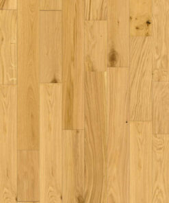 90mm Wide Solid European Oak Flooring UV Lacquered