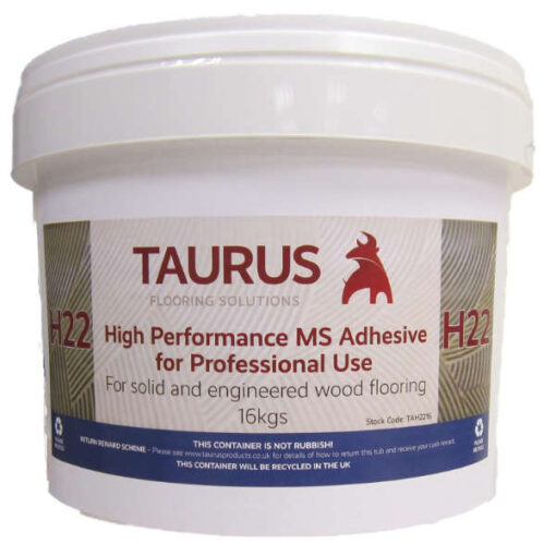 Taurus H22 MS Wood Flooring Adhesive 16kg