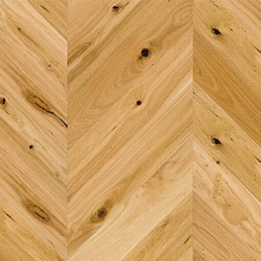 Holt Avon Engineered Oak Chevron Flooring T&G