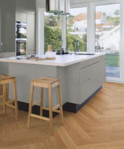 Boen Herringbone Click Adagio Oak Engineered Flooring Brushed & Oiled