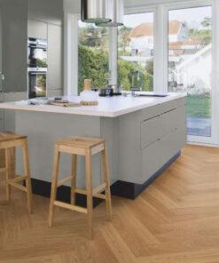 Boen Herringbone Click Adagio Oak Engineered Flooring Brushed & Oiled