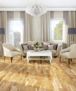 14mm 3-Strip 5G Click Engineered European Oak Flooring Lacquered