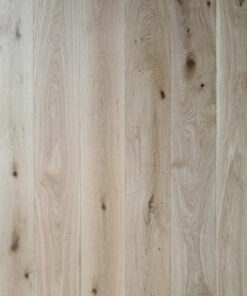 14mm Engineered Rustic Oak Flooring Brushed & Oiled 190mm Wide