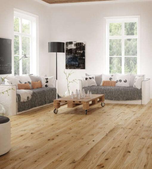 14mm European Oak 5G Click Engineered Oak Flooring Brushed & Oiled 130mm