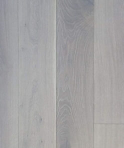14mm Pure White Engineered Oak Flooring Brushed & Lacquered 190mm Wide