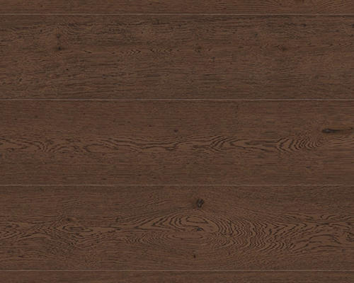 18mm Cocoa Engineered Oak Flooring Brushed & Oiled 150mm Wide