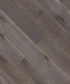 18mm Dark Grey Engineered Oak Flooring Brushed & Lacquered