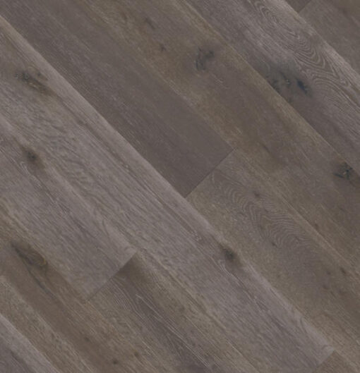 18mm Dark Grey Engineered Oak Flooring Brushed & Lacquered
