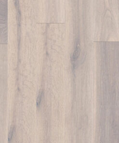 18mm Pure White Engineered Oak Flooring Brushed & Lacquered 150mm
