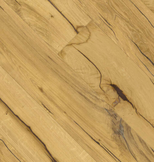 Maxiply 300mm Extra Wide Engineered Oak Flooring Brushed & Hand Waxed