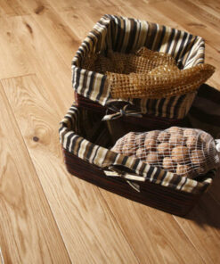 14mm 5G Click Engineered European Oak Flooring Brushed & Lacquered 180mm