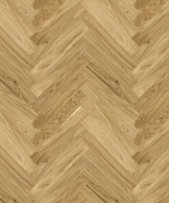 Click Herringbone Engineered Oak Flooring Brushed And Lacquered