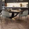French Chateua Chevron Engineered Oak Flooring T&G