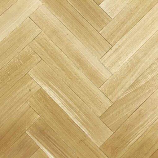 Hadlow Herringbone Unfinished European Oak Engineered Flooring