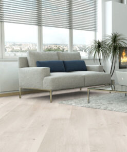 Holt Lewis Cream Click Oak Engineered Flooring Lacquered 207mm