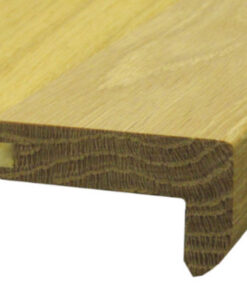 Unfinished 14mm T&G Oak Stair Nosing