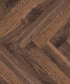 Atkinson & Kirby Eltham Engineered Herringbone Walnut Flooring 70mm Wide