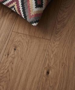 Contemporary Click Engineered Kielder Oak Flooring Brushed & Hand Scraped