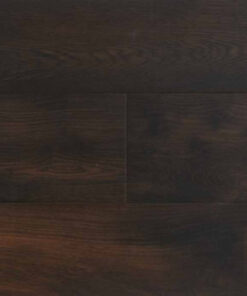 Contemporary Click Engineered Sheraton Smoked Oak Flooring Brushed & Lacquered
