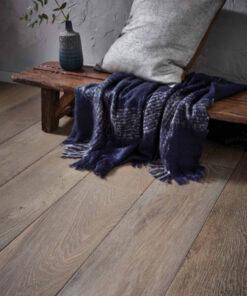 Contemporary Sandur Heavy Brushed Engineered Oak Flooring 18mm x 190mm